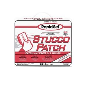 Rapid Set 25 lb. Stucco Patch 71020025 at The Home Depot - Mobile