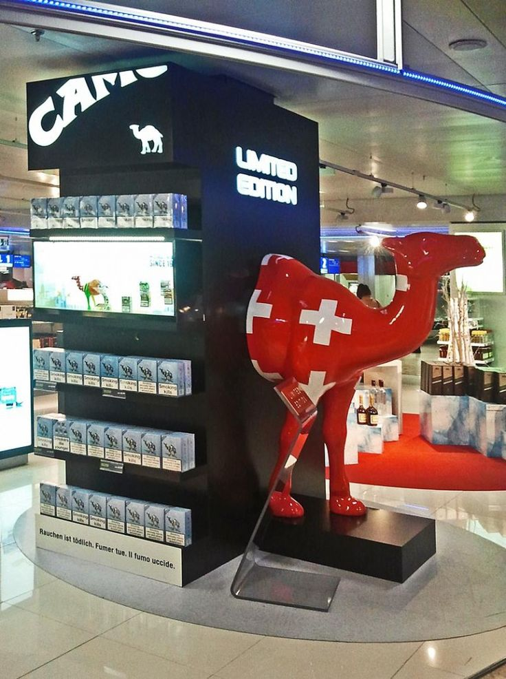 Camel display