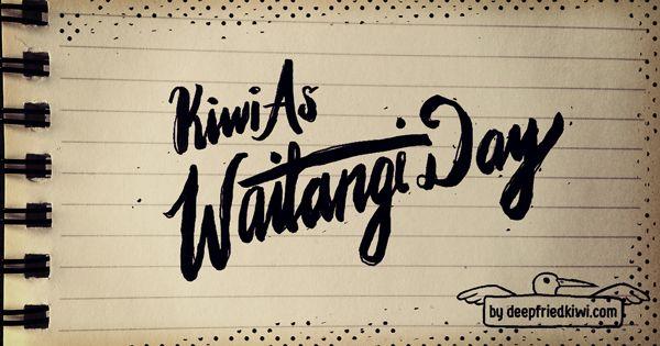 Kiwi as Waitangi Day
