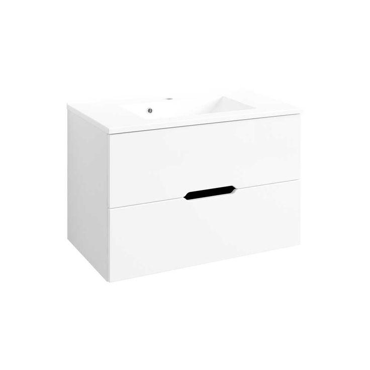 Waschtisch In Weiß Hochglanz 80 Cm Breit Jetzt Bestellen Unter:  Https://moebel.ladendirekt.de/bad/badmoebel/badmoebel Sets/?uidu003d8c3951a0 A697 5f27 B41b   ...