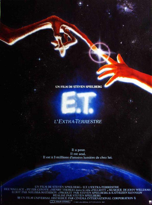 Redécouvrez la bande-annonce du film E.T. l'extra-terrestre ponctuée des secrets de tournage et d'anecdotes sur celui-ci. ☞ E.T. l'extra-terrestre (orthogr