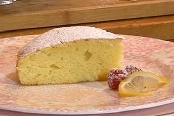Torta al limone VELOCE - preparata nel mixer