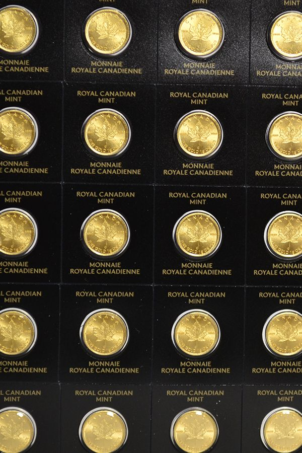 Buy Maplegram 25 1 Gram Gold Maple Leaf Coins For Sale Gold Coins Rare Coins Worth Money Gold
