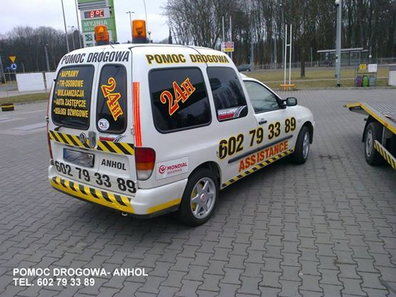 POMOC DROGOWA - ANHOL http://anhol.pl