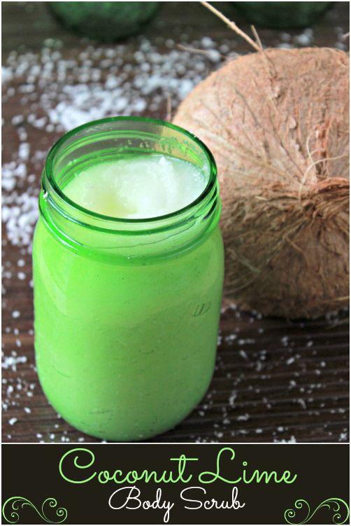 Coconut Lime Body Scrub - The Coconut Mama