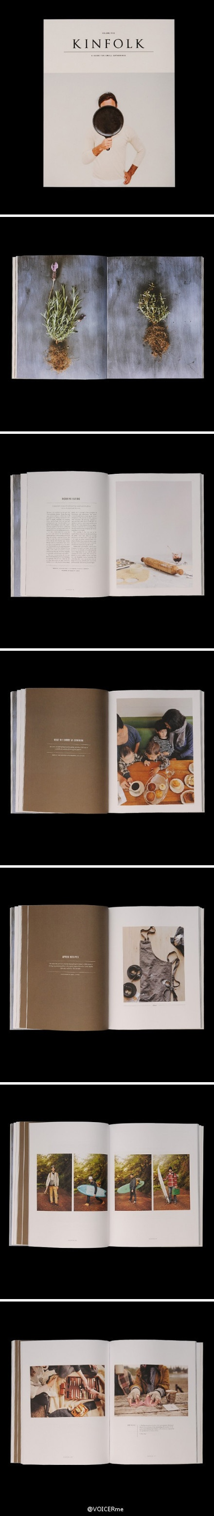 杂志 《Kinfolk》vol.5出炉,整个色调都变得秋天起来。秋高气爽的日子里,最舒服的事情,莫过于与好友奔赴自然的怀抱,然后一起为亲手制作的美味佳肴干杯!