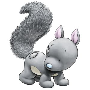 Carte Blanche - My Blue Nose Friends - Nutmeg the Squirrel