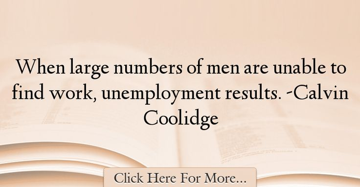 Calvin Coolidge Quotes About Work - 74998