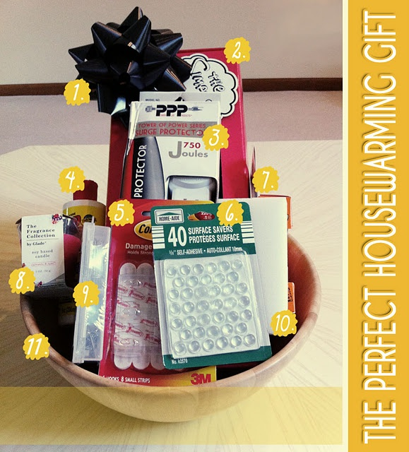 Housewarming Gift Basket  Make U0026 Give To Owners Of A House You Noticed Was  Recently