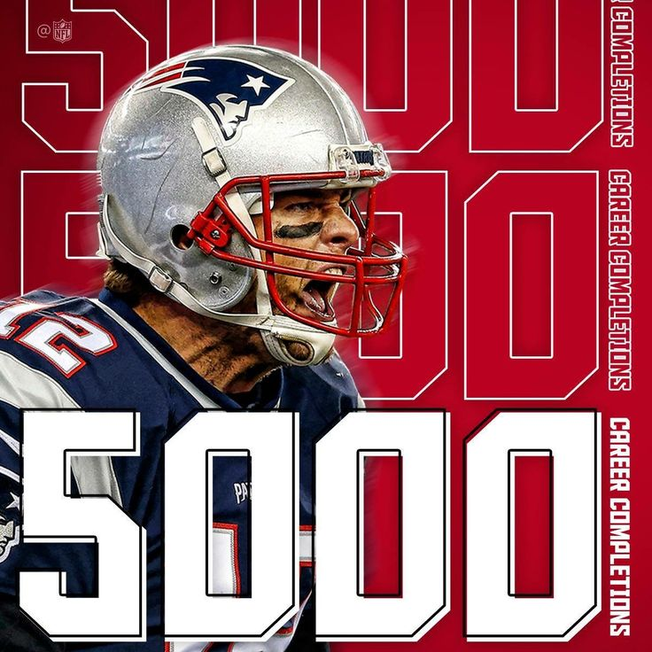 TB12! 5000 Career Completions! #GOAT #CINvsNE #LetsGo