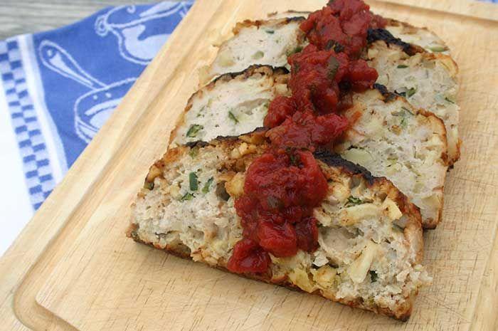 Grilled Chicken With Tomato Tarragon Sauce Recipe — Dishmaps