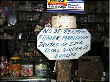 Funny Spanish signs