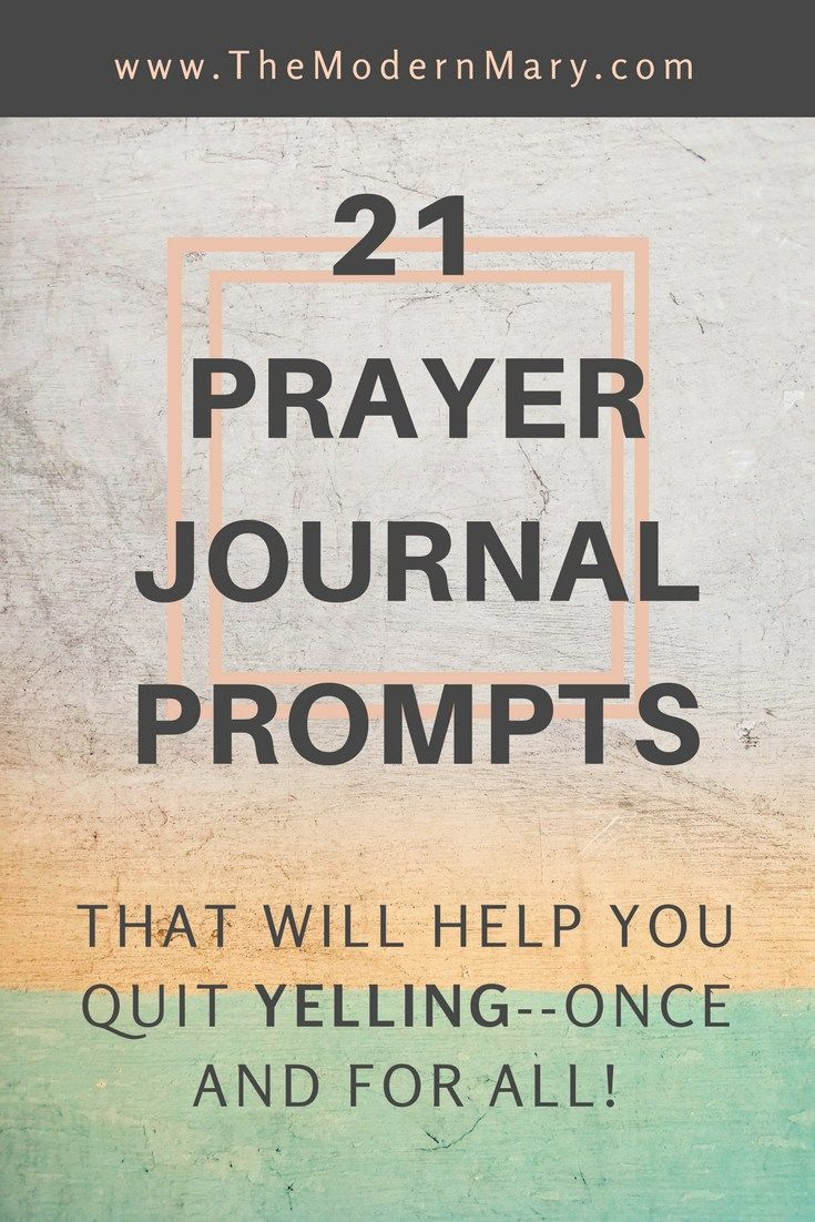 how to write a prayer journal