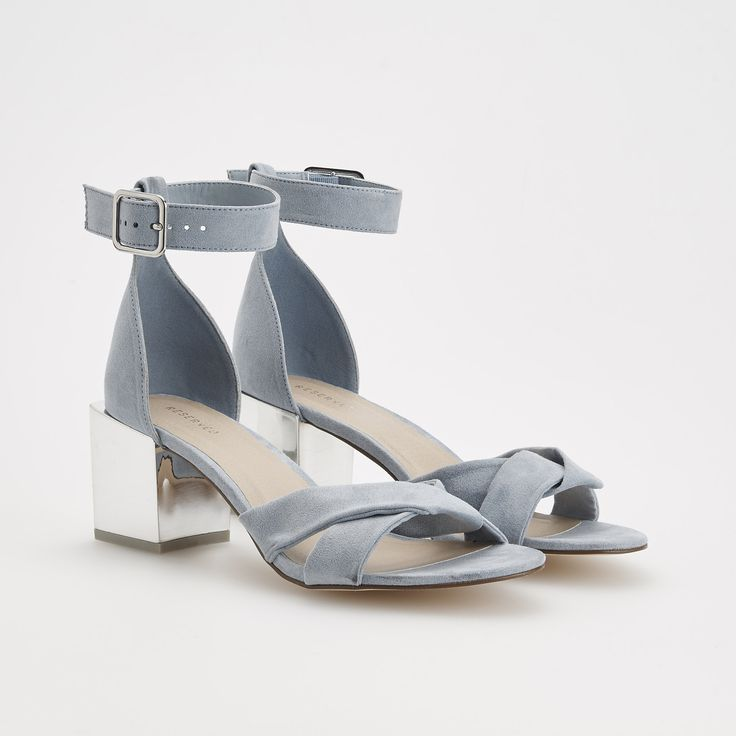 Sandale cu toc, RESERVED, RA043-05X