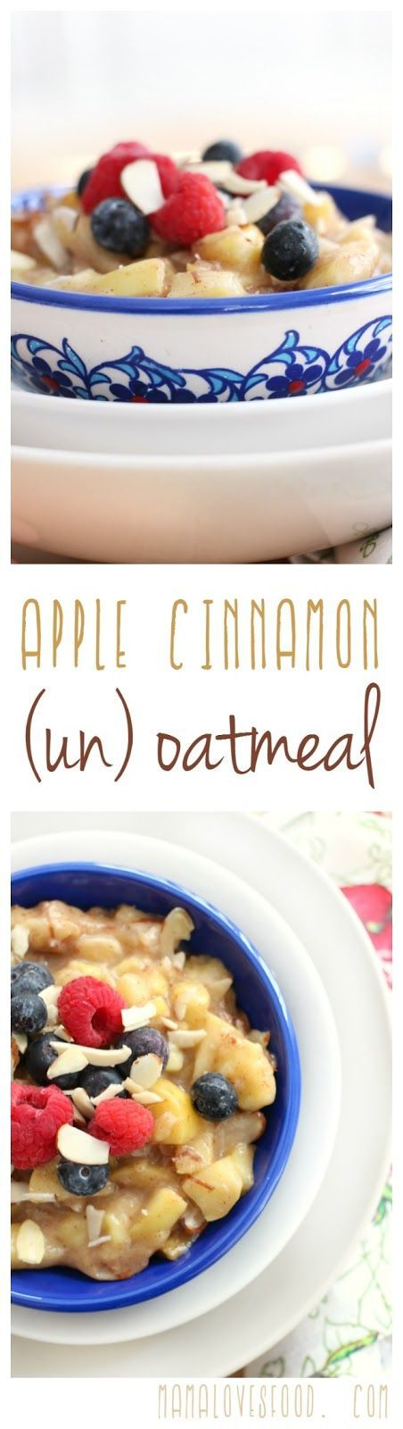 I think I might try this breakfast recipe tomorrow, it sounds super yummy and it is paleo! Apple (un) Oatmeal,