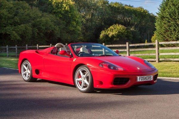 2002 Ferrari 360 Spider Classic Motors Classic Cars Ferrari