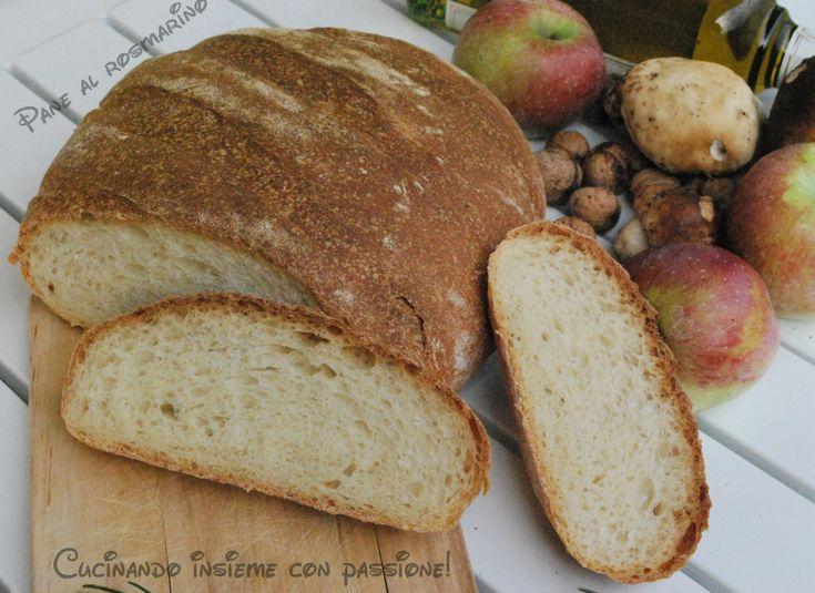 Pane al rosmarino con lievito madre