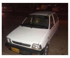 Suzuki Mehran VXR White Color Model 1998 New Engine for Sale in Karachi