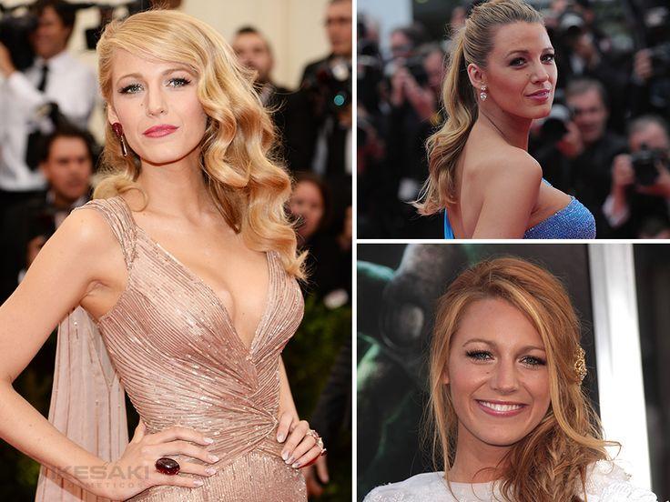 Qual penteado da diva Blake Lively você gosta mais: solto lateral, trança espinha de peixe ou rabo de cavalo?