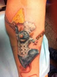Image result for ratatouille tattoo