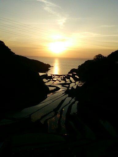 浜野浦の棚田は東松浦郡、佐賀県にあります