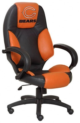 Chicago Bears Office Chair from  Chicago Bears Gear at Hibbett