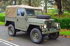 Series 3 Land Rover Lightweight Air Portable, 1/2 ton ex-Military Army SWB 88