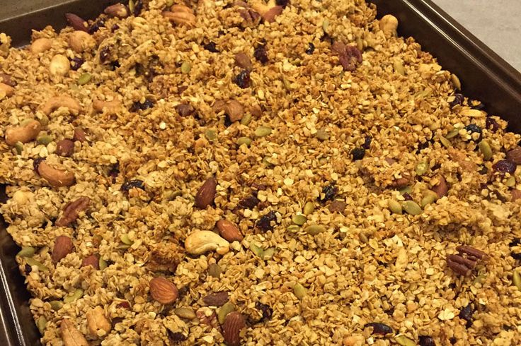 Recipe: Simple Nutty and Fruity Granola
