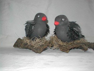 duiven(styropor met fietsband) - Categorie: Fietsbanden - Hobbyjournaal uw hobby website