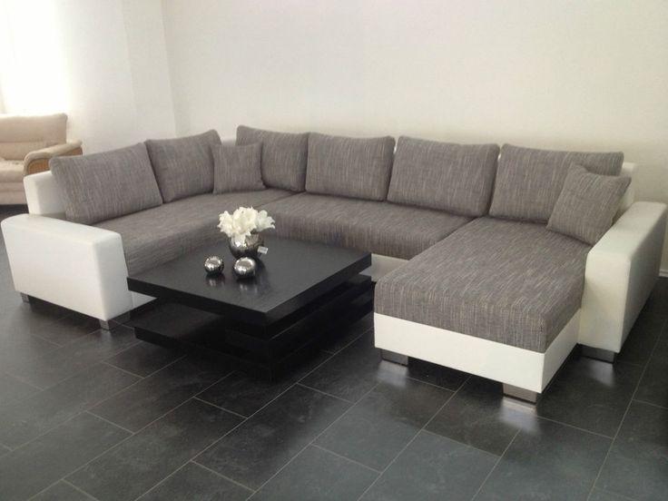 die besten 25 wohnlandschaft g nstig ideen auf pinterest couch g nstig wohnlandschaft und. Black Bedroom Furniture Sets. Home Design Ideas