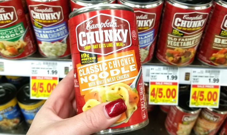 Today Only! Campbell's Chunky Soup, Just $0.75 at Kroger with 5X eCoupon!