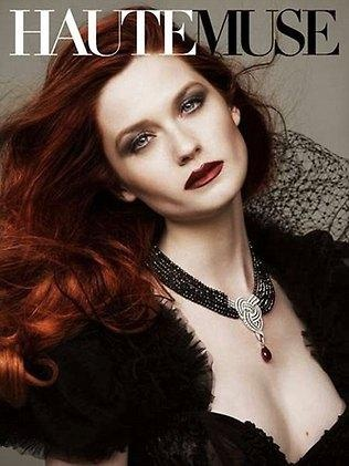 Um... Ginny Weasley? No WAY!! The actress Bonnie Wright who plays Ginny in the Harry Potter films. Holy smokes!
