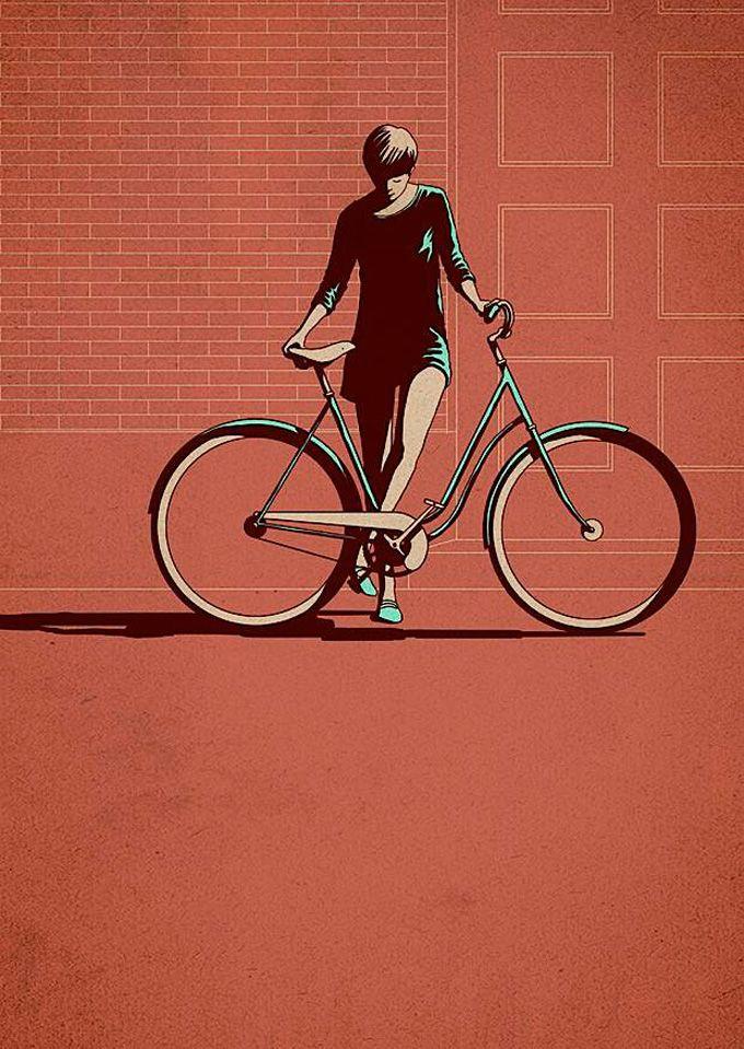 As bicicletas de Adams Carvalho   Criatives   Blog Design, Inspirações, Tutoriais, Web Design