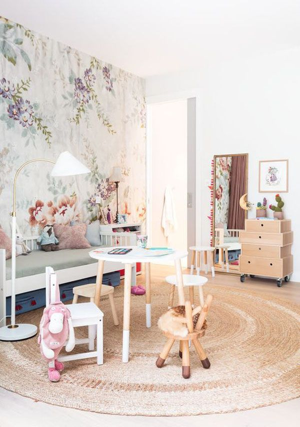 When Wallpapers Add an Original Touch to Your Kids' Room - Petit & Small