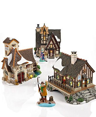17 best images about christmas fantasy world on pinterest for Department 56 dickens village most valuable