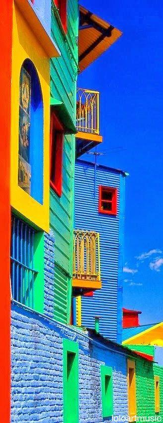 Caminito in La Boca, Buenos Aires, Argentina