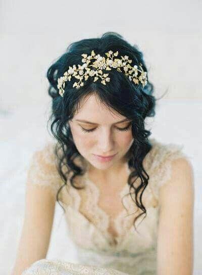 accessoires cheveux coiffure mariage chignon mariée bohème romantique retro, BIJOUX MARIAGE (34)
