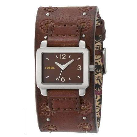 FOSSIL: Women's Analog Brown Dial Watch