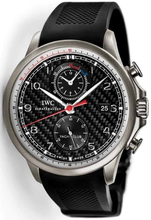 IWC Portuguese Yacht Club Chronograph Edition Watch For Volvo Ocean Race   iwc  $15,800