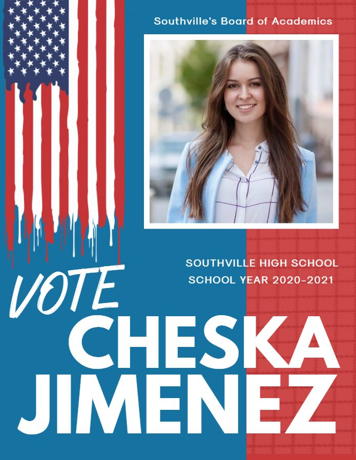 high school election campaign flyer template election campaign