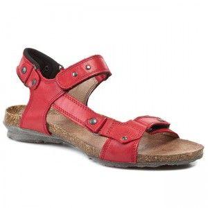Sandały LESTA - 1128 Czerwony