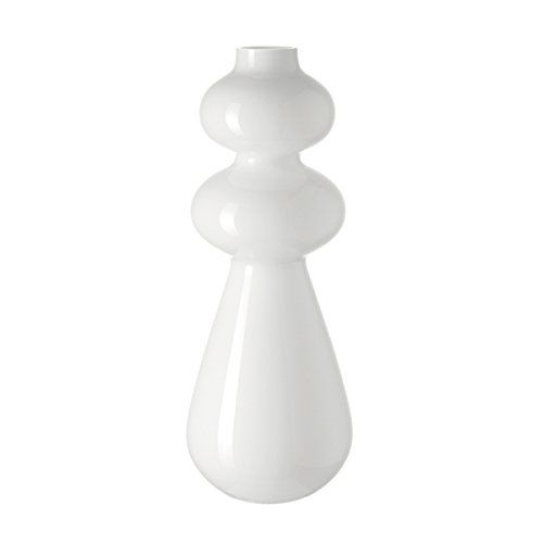 Leonardo Vase Natale, Handmade, Deco Flower Vase, Glass, 50 cm, White Buy this and much more home & living products at http://www.woonio.co.uk/p/leonardo-vase-natale-handmade-deco-flower-vase-glass-50-cm-white/