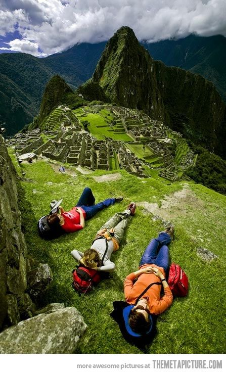 I need a picture like this when i visit Machu Picchu. #Peru #Cuzco #Viagem