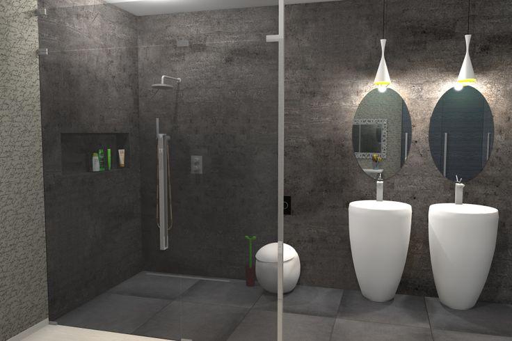 ...umyvadla a záchod z řady laufen Alessi zdobí interiér koupelny