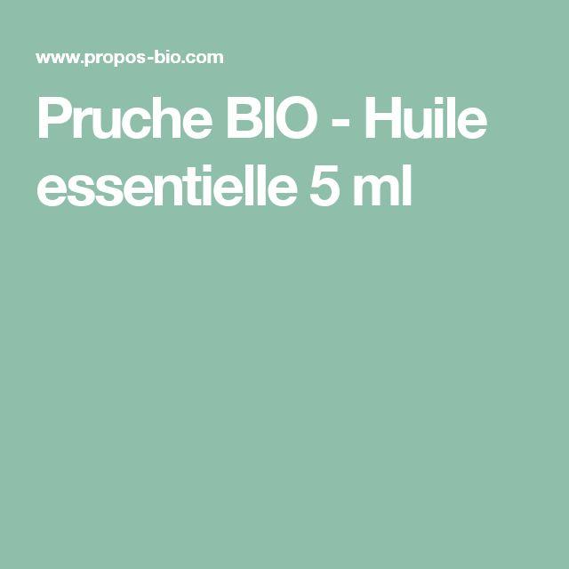 Pruche BIO - Huile essentielle 5 ml