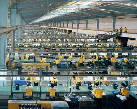 BURTYNKSY: FACTORY WORK IN CHINA (one of my favorite photographers-edward burtynsky)