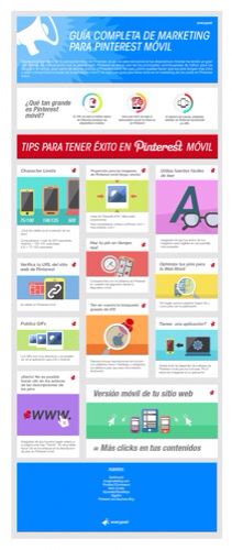 Guía completa de marketing móvil para Pinterest