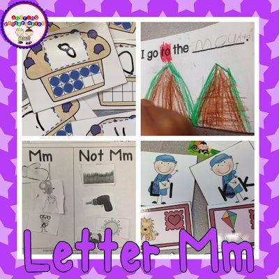 Letter Mm Activities