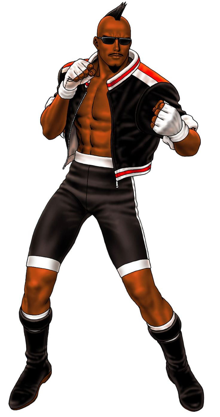 Heavy D from The King of Fighters '98: Ultimate Match