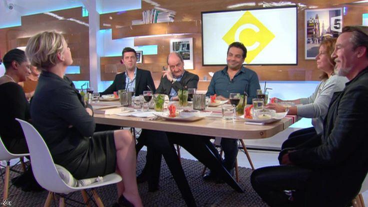 Anne-Elisabeth Lemoine dans C à Vous. Diffusé à la télévision le 06/06/16.